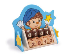 """Unendlich Kalender """"Pino"""", Kinderzimmermöbel u. Zubehör, Lernartikel aus Holz"""
