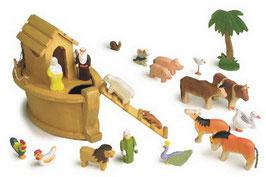 Arche Noah, Schiffe-Zubehör, Kinder-Holzspielzeug