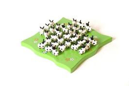 """Solitär """"Kühe"""" Gesellschaftsspiel, Kinder-Holzspielzeug für Spielen u. Spaß"""