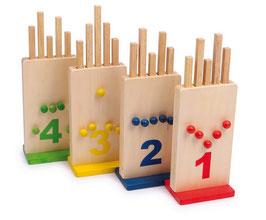Die verflixten Löcher für Spielen u. Spaß, Kinder-Holzspielsachen