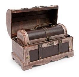 """Holzbox """"Antik"""", Geschenke-Dekoration"""
