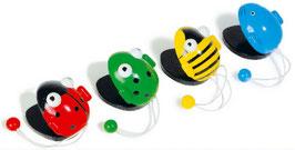 Kastagnetten-Tiere, Musikinstrumente
