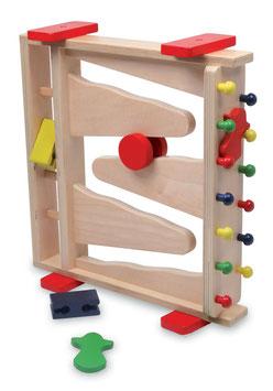 Wendebahn, Kugelbahnen, Kinder-Holzspielzeug