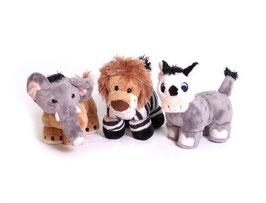 Tiere mit Klett, Plüsch- u. Kuschelartikel, Babyartikel