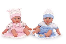 "Puppen ""Christian"" und ""Carla"""