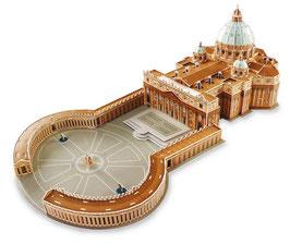 """3D """"Petersdom"""" - Puzzle der größten Kirche der Welt"""