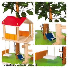 """Puppenhaus """"Baumhaus"""", Puppenhäuser u Zubehör, Puppen, Holzspielzeug für die Kleinen"""