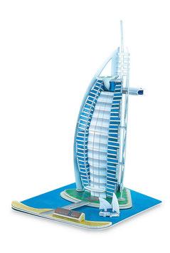 """3D """"Burl Al Arab"""", Puzzle eines Meisterbaus in Dubai"""