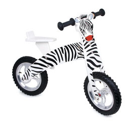 """Laufrad """"Zebra"""", Lauf-Fahrräder, Motorik Spielzeug, Holzspielzeug"""