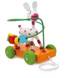 Motorik-Rotbäckchen, Zieh- u. Schiebeartikel, Babyartikel