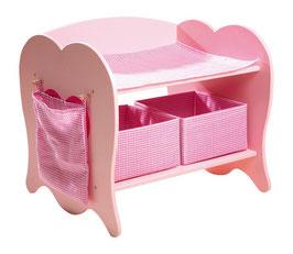Puppen-Wickeltisch, Puppenhäuser u. Zubehör, Kinderzimmermöbel u. Zubehör aus Holz