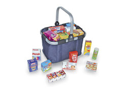 Carry-Bag, blau, Kaufläden-Zubehör, Kinder-Spielsachen