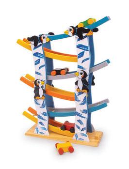 Pinguinbahn, Fahrzeuge-Autos auf Kugelbahnen, Holzspielzeug