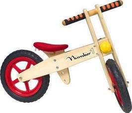 """Laufrad """"Number 1"""", Lauf-Fahrräder, Motorik Spielzeug, Holzspielzeug"""