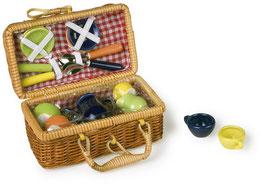 Picknickkorb, bunt, Küchen u. Zubehör, Gartenspielzeug Outdoor