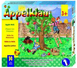 Äppelklau, Würfel-Gesellschaftsspiel, Bauerhöfe u. Zubehör, Holzspielzeug