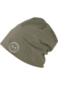 Stamped Beanie Olive