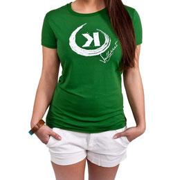 Bamboo Logo Shirt Green
