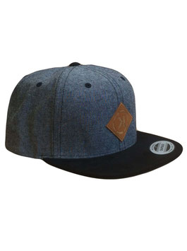 Snapback Dark Grey Retro