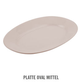 PLATTE OVAL MITTEL