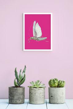 "Kunstdruck ""Grille Pink"""