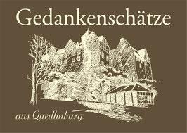 """""""Gedankenschätze"""" aus Quedlinburg"""