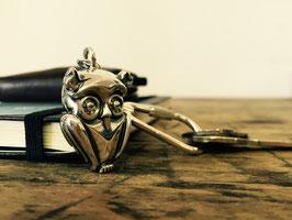 Schlüsselanhänger 925 Sterlingsilber EULE