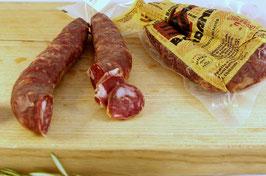 """Salsiccia sarda mit wildem Fenchel (finochietto selvatico) """"Tipo Banari"""""""