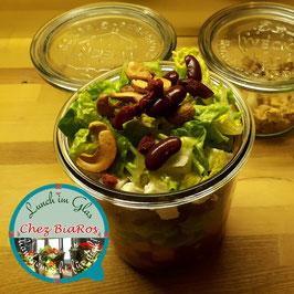 Salat für Mittwoch 28.07.2021 - Süßkartoffel Tex-Mex mit Tomatendressing