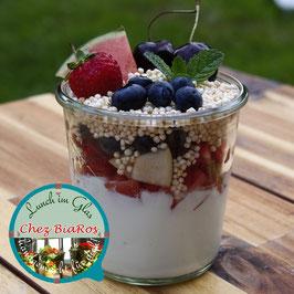 Joghurt mit Ballaststoffen für Montag 23.11.2020