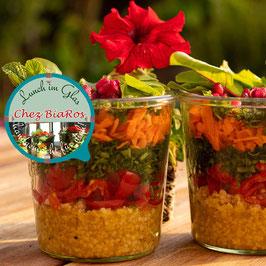 Salat für Mittwoch 24.02.2021 - Salat á la Tabouleh syrische Art mit feiner Orangen-Vinaigrette (Delux-Salat)