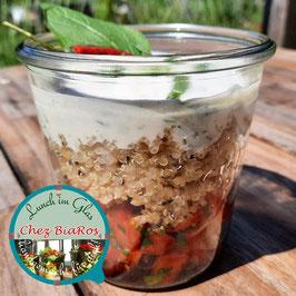 Salat für Freitag 30.07.2021 - Scharfe Tomate-Melone Salat