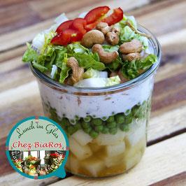 Salat für Donnerstag 21.10.2021 - Kohlrabi-Krabben-Salat