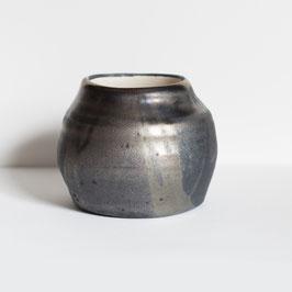 Vaso nero metallizzato (2)