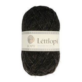 Lettlopi - 0005 black heather