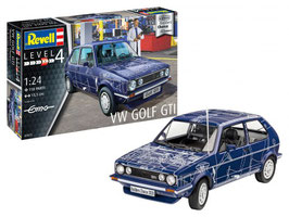 "Revell 07673 VW Golf GTI ""Builders Choice"" Schaal: 1:24"