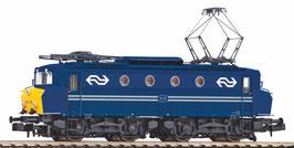 Piko NS 1115 blauw met botsneus met gele frontzijde.