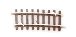 Lenz 45023 Gebogen rail 7,5 graad R2 Radius 1028,7 mm