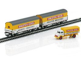 """Marklin MHI 46172 Set bierkoelwagens """"Holsten"""""""