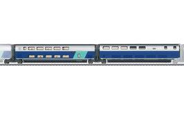 Marklin 43443 Set uitbreidingsrijtuigen 3 voor TGV Euroduplex
