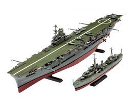 Revell 05149 HMS Ark Royal & Tribal Class Des Schaal: 1:720