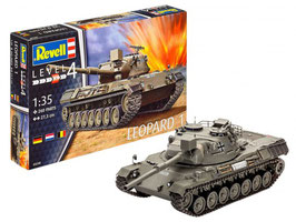 Revell 03240 Leopard 1 Schaal: 1:35