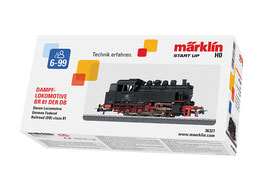 Marklin 36321 Tenderlocomotief serie 81 Voorbeeld: Zware rangeerlocomotief serie 81 van de Deutsche Bundesbahn (D