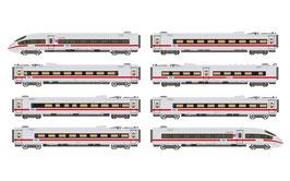 Arnold ICE 3 class 406 in grijs rode uitvoering 8 delig NS in schaal N