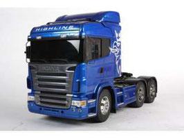 Tamiya 56327 - Scania R620 6x4 Highline Blue Edition