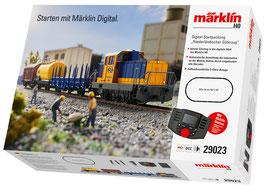 """Marklin 29023 Digitale startset """"Nederlandse goederentrein""""."""