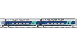 Marklin 43433 Set uitbreidingsrijtuigen 2 voor TGV Euroduplex