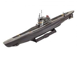 Revell 05154 Type VII C/41 onderzeeër Schaal: 1:350