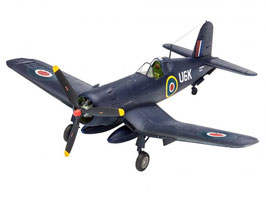 Revell 3917 F4U-1B Corsair Royal Navy Schaal: 1:72