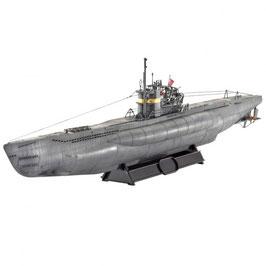 Revell 05100 Type VII C/41 onderzeeër Schaal: 1:144